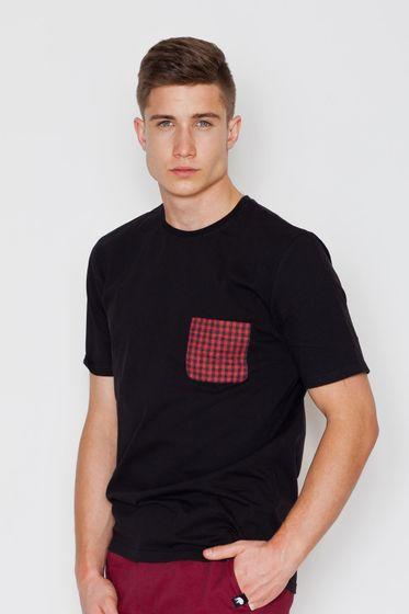 Visent Herren T-Shirt Schwarz