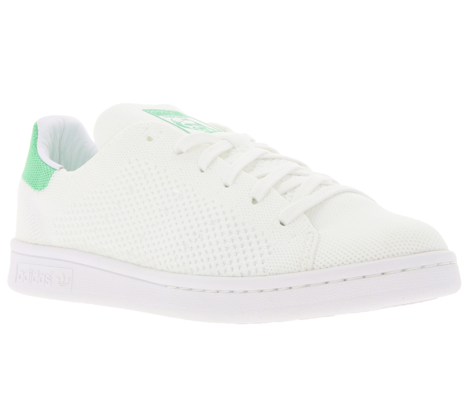 adidas Damen-Schuhe Originals Stan Smith Primeknit Sneaker Weiß