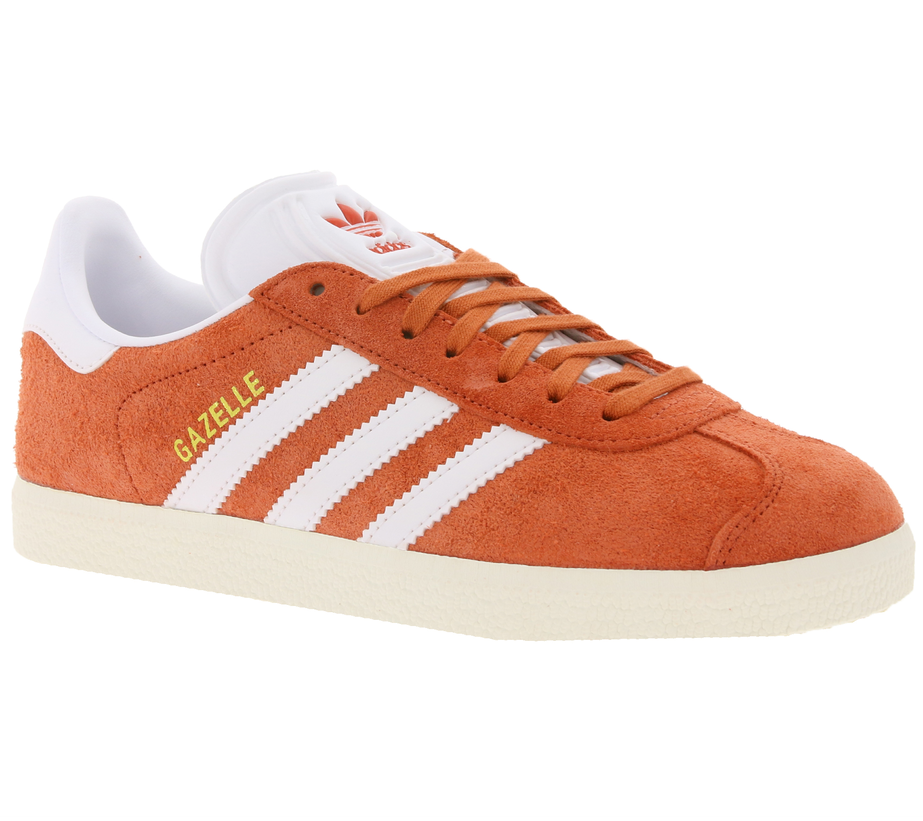 Details about Adidas Casual Sneakers Womens Shoes Originals Gazelle Trainer Casual Orange show original title