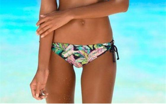 sunseeker Badehose sommerlich floral gemusterte Damen Bikini-Hose Bunt