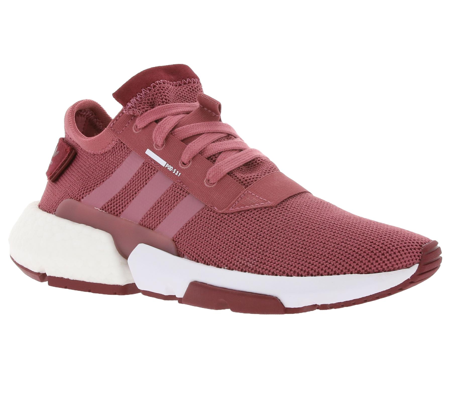 Details zu adidas Originals Sneaker Turnschuhe sportliche Damen Schuhe POD S3.1 W Bordeaux