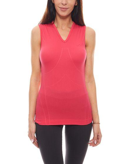 unifit Funktions-Shirt atmungsaktives Damen seamless Tanktop Rot