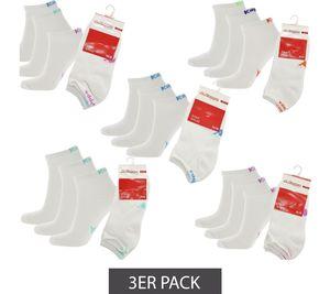 3er Pack Kappa Sneaker-Socken Damen