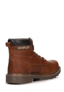 CATERPILLAR Used-Look Damen Boots Braun Schuhe – Bild 3