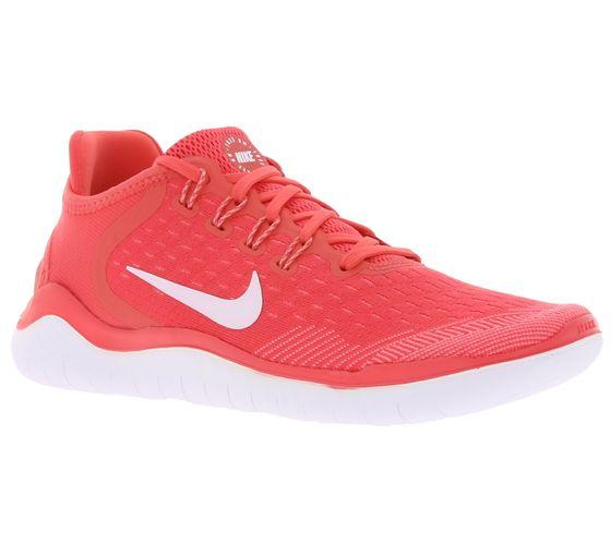 NIKE Free Run 2018 WMNS Lauf-Schuhe bequeme Damen Jogging-Schuhe Pink