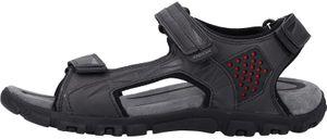 GEOX Herren Sandalen Schwarz Schuhe