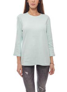 Eddie Bauer Sweater Slim Fit zeitloses Damen Langarm-Shirt Mint