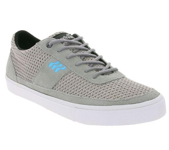 Boxfresh Schuhe flache Herren Low-Top Sneaker Hellgrau