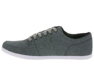 Boxfresh Schuhe trendiger Herren Low Top Sneaker Grau – Bild 2