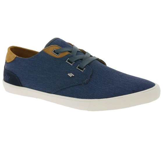 Boxfresh Schuhe Low-Top modische Herren Sneaker Navy