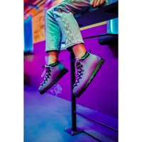Native Fitzsimmons Citylite Damen Schnür-Stiefelette Stiefel Boots Schuhe Violett – Bild 2