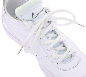 TubeLaces Schnuersenkel schlichte Schuh Schnuerbaender Weiss