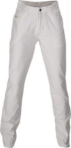 Fifty Five Hose schlichte Herren Regular Fit Jeans-Hose Weiß