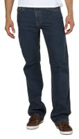 Fifty Five Denim Hose bequeme Herren Comfort Fit Jeans Blau
