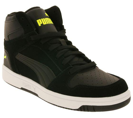 PUMA Schuhe angesagte Herren High Top Sneaker Rebound LayUp SD Schwarz