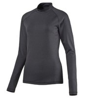 PUMA Pullover basic Damen Sport-Sweater Baselayer Dunkelgrau