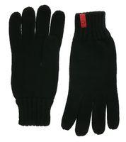 C3 Winter-Handschuhe dicke Strick-Handschuhe Knitted Gloves Schwarz
