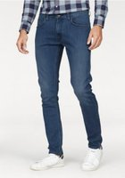 Lee 5-Pocket Hose modische Herren Slim-Fit Jeans Luke Blau