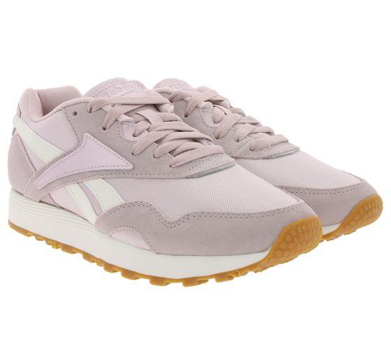 Reebok Classic Schuhe modische Damen 90s-Sneaker Rapide Violett