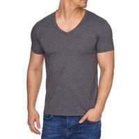 Tazzio Fashion Rundhals-Shirts modische Herren V-Neck T-Shirts mit coolen Prints
