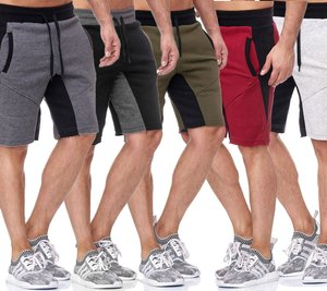 Tazzio Fashion Chiller Shorts locker lässige Herren Sweat City-Shorts in verschiedenen Farben