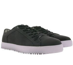 KeN Shoe Fashion Schuhe moderne Herren Low Top Sneaker Grau