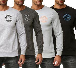 RUSTY NEAL Rundhals-Pullover angesagtes Herren Sweat-Shirt mit großem Rücken-Print