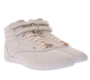 Reebok Classic High-Top Sneaker ultra bequeme Freestyle Schuhe Rosa