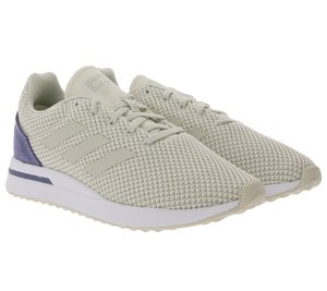 adidas Run 70s Lauf-Schuhe coole Damen Retro Sport-Schuhe Weiß/Blau
