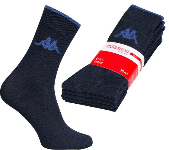 5 pack Kappa Men's Socks Blue 705047-821