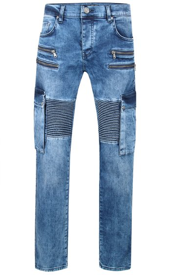 Tazzio Fashion Joe Herren Jeans Blau 16-529