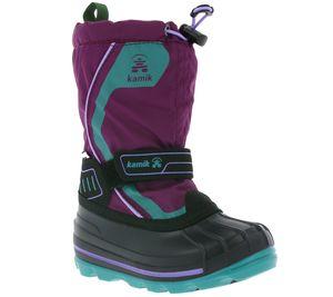 kamik Kinder-Boots Snowcoast 4 G Violett Futter