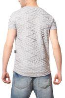 CARISMA Cut Herren T-Shirt Grau Ripped Slim Fit  – Bild 4
