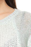 Vokuhila Pullover Damen Mint – Bild 2