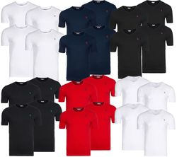 Pack of 4 POLO ASSN. T-shirt Men´s Round Neck & V-Neck