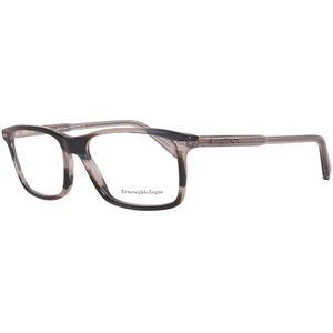 Zegna Brille Herren Grau Lese-Brillen Brillen-Gestell Brillen-Fassung