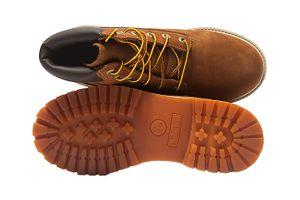 Timberland 6 Inch Premium Rust NBK Junior Echtleder-Stiefel Braun Schuhe – Bild 6