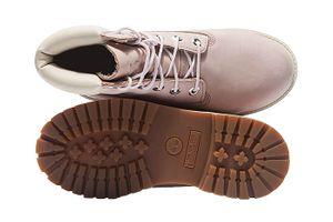 Timberland 6 Inch Premium Junior Echtleder-Boots Puder Rosa Schuhe – Bild 6