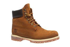 Timberland 6 Inch Premium Herren Echtleder-Boots Braun Schuhe