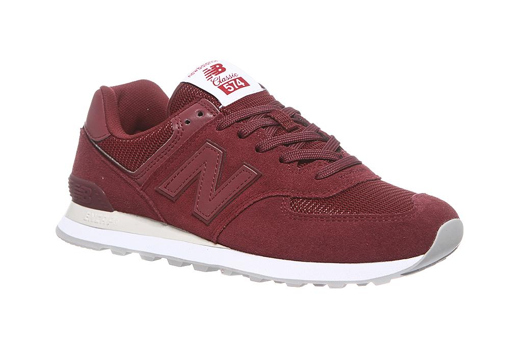New Balance Herren ML574 Sneaker Rot