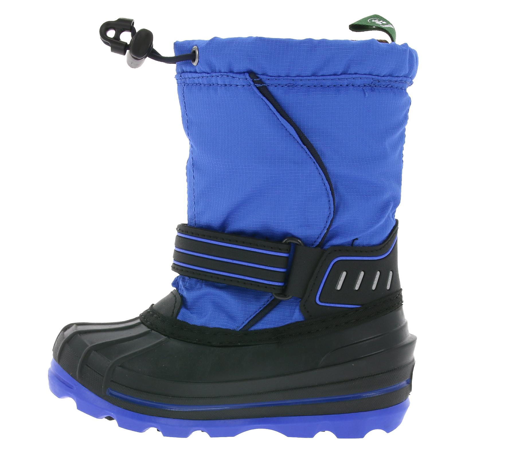 kamik wasserfeste Kinder-Winter-Boots Schnee-Stiefel Schuhe Blau SALE Boots