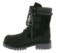 kamik waterproof kids winter boots with lining black