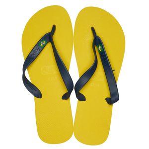 dupé Zehentrenner Unisex Gelb Schuhe