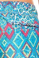CHIEMSEE kurze Damen-Boardshort Ethno-Look Strandhose Badehose Grau & Türkis – Bild 8
